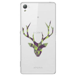 Plastové pouzdro iSaprio Deer Green na mobil Sony Xperia Z3