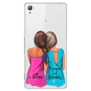Plastové pouzdro iSaprio Best Friends na mobil Sony Xperia Z3