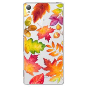 Plastové pouzdro iSaprio Autumn Leaves 01 na mobil Sony Xperia Z3
