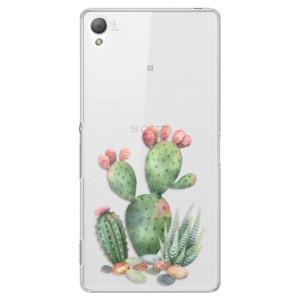 Plastové pouzdro iSaprio Cacti 01 na mobil Sony Xperia Z3