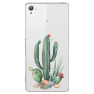 Plastové pouzdro iSaprio Cacti 02 na mobil Sony Xperia Z3