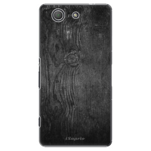 Plastové pouzdro iSaprio Black Wood 13 na mobil Sony Xperia Z3 Compact