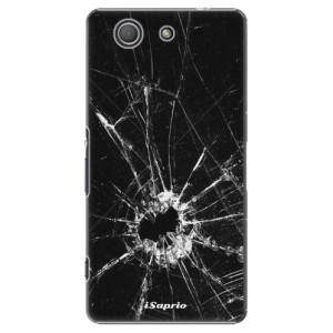 Plastové pouzdro iSaprio Broken Glass 10 na mobil Sony Xperia Z3 Compact