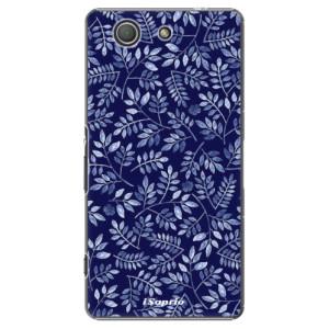 Plastové pouzdro iSaprio Blue Leaves 05 na mobil Sony Xperia Z3 Compact