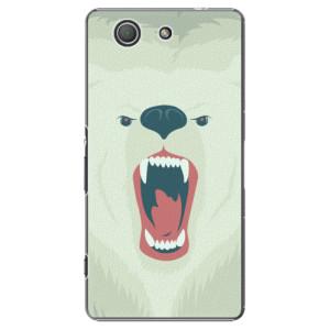 Plastové pouzdro iSaprio Angry Bear na mobil Sony Xperia Z3 Compact