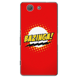 Plastové pouzdro iSaprio Bazinga 01 na mobil Sony Xperia Z3 Compact