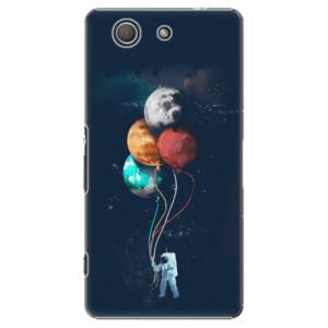 Plastové pouzdro iSaprio Balloons 02 na mobil Sony Xperia Z3 Compact
