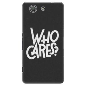 Plastové pouzdro iSaprio Who Cares na mobil Sony Xperia Z3 Compact
