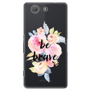 Plastové pouzdro iSaprio Be Brave na mobil Sony Xperia Z3 Compact