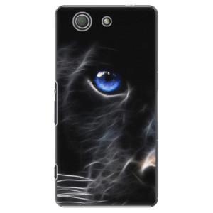 Plastové pouzdro iSaprio Black Puma na mobil Sony Xperia Z3 Compact