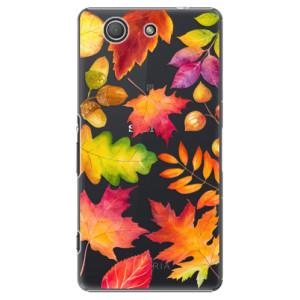 Plastové pouzdro iSaprio Autumn Leaves 01 na mobil Sony Xperia Z3 Compact