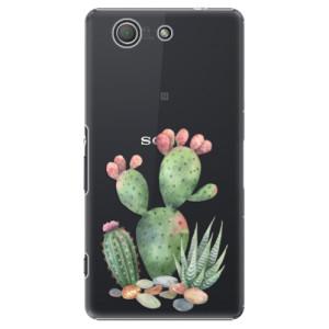 Plastové pouzdro iSaprio Cacti 01 na mobil Sony Xperia Z3 Compact