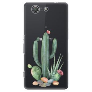 Plastové pouzdro iSaprio Cacti 02 na mobil Sony Xperia Z3 Compact