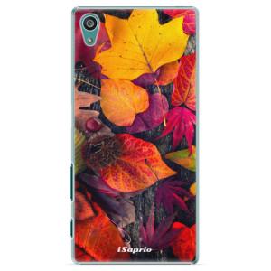 Plastové pouzdro iSaprio Autumn Leaves 03 na mobil Sony Xperia Z5