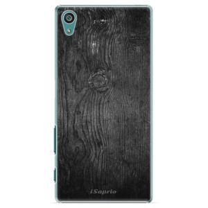 Plastové pouzdro iSaprio Black Wood 13 na mobil Sony Xperia Z5