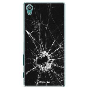 Plastové pouzdro iSaprio Broken Glass 10 na mobil Sony Xperia Z5