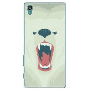 Plastové pouzdro iSaprio Angry Bear na mobil Sony Xperia Z5