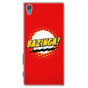 Plastové pouzdro iSaprio Bazinga 01 na mobil Sony Xperia Z5