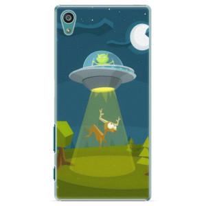 Plastové pouzdro iSaprio Alien 01 na mobil Sony Xperia Z5