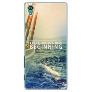 Plastové pouzdro iSaprio Beginning na mobil Sony Xperia Z5