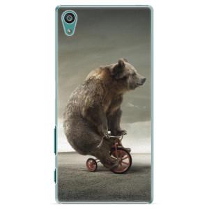 Plastové pouzdro iSaprio Bear 01 na mobil Sony Xperia Z5
