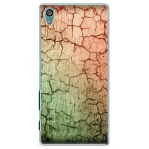 Plastové pouzdro iSaprio Cracked Wall 01 na mobil Sony Xperia Z5