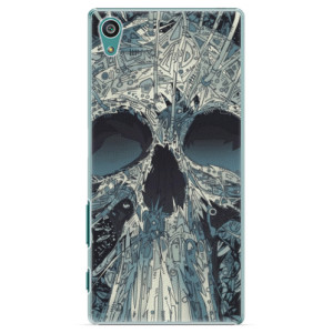Plastové pouzdro iSaprio Abstract Skull na mobil Sony Xperia Z5