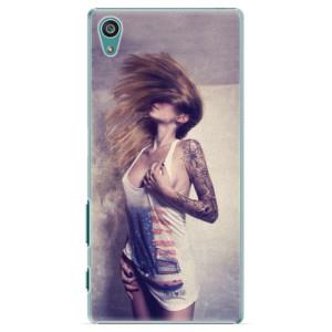 Plastové pouzdro iSaprio Girl 01 na mobil Sony Xperia Z5
