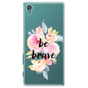Plastové pouzdro iSaprio Be Brave na mobil Sony Xperia Z5