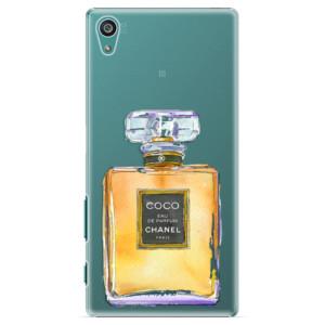 Plastové pouzdro iSaprio Chanel Gold na mobil Sony Xperia Z5