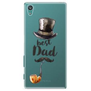 Plastové pouzdro iSaprio Best Dad na mobil Sony Xperia Z5
