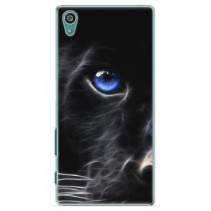 Plastové pouzdro iSaprio Black Puma na mobil Sony Xperia Z5
