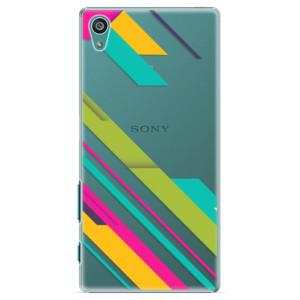 Plastové pouzdro iSaprio Color Stripes 03 na mobil Sony Xperia Z5