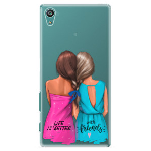 Plastové pouzdro iSaprio Best Friends na mobil Sony Xperia Z5