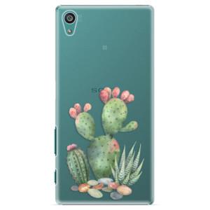 Plastové pouzdro iSaprio Cacti 01 na mobil Sony Xperia Z5