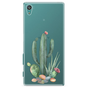 Plastové pouzdro iSaprio Cacti 02 na mobil Sony Xperia Z5