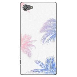 Plastové pouzdro iSaprio Digital Palms 10 na mobil Sony Xperia Z5 Compact