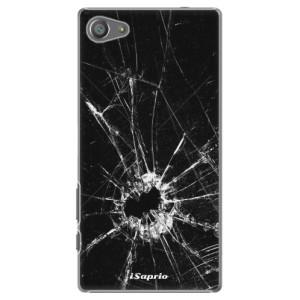 Plastové pouzdro iSaprio Broken Glass 10 na mobil Sony Xperia Z5 Compact