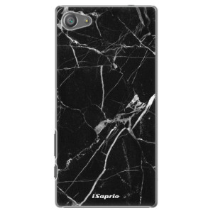 Plastové pouzdro iSaprio Black Marble 18 na mobil Sony Xperia Z5 Compact