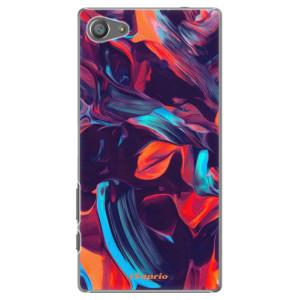 Plastové pouzdro iSaprio Color Marble 19 na mobil Sony Xperia Z5 Compact