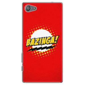 Plastové pouzdro iSaprio Bazinga 01 na mobil Sony Xperia Z5 Compact