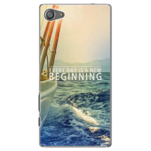 Plastové pouzdro iSaprio Beginning na mobil Sony Xperia Z5 Compact
