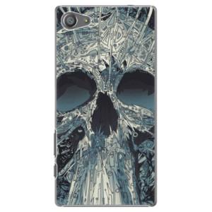 Plastové pouzdro iSaprio Abstract Skull na mobil Sony Xperia Z5 Compact