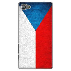 Plastové pouzdro iSaprio Czech Flag na mobil Sony Xperia Z5 Compact