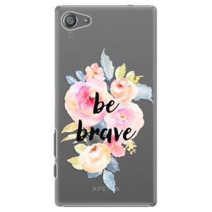 Plastové pouzdro iSaprio Be Brave na mobil Sony Xperia Z5 Compact