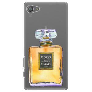 Plastové pouzdro iSaprio Chanel Gold na mobil Sony Xperia Z5 Compact