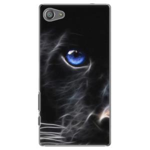 Plastové pouzdro iSaprio Black Puma na mobil Sony Xperia Z5 Compact