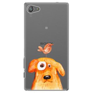 Plastové pouzdro iSaprio Dog And Bird na mobil Sony Xperia Z5 Compact