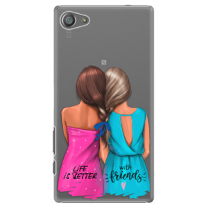 Plastové pouzdro iSaprio Best Friends na mobil Sony Xperia Z5 Compact