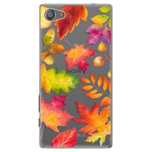 Plastové pouzdro iSaprio Autumn Leaves 01 na mobil Sony Xperia Z5 Compact